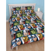 Marvel Avengers Shield Reversible Double Duvet Cover Set