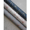 Grey and Rose Gold Metro Prism Geometric Triangle Wallpaper WOW009