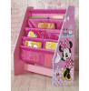 Bibliothèque de rangement pour le mobilier de chambre à coucher Minnie Mouse