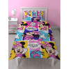 Minnie Mouse Attitude Single Rotary Duvet Cover Set