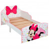 Minnie Mouse Toddler Bed with Storage plus Deluxe Foam Mattress
