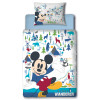 Mickey Mouse Wanderer Junior Toddler Duvet Cover Bed Set