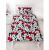 Stylish Minnie Mouse Cute Single Rotary Duvet Cover and Pillowcase Set
