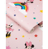 Graham & Brown Disney Minnie Mouse Rainbow Wallpaper Pink 108592