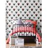 Disney Minnie Mouse Glitter Wallpaper Graham & Brown White 105828
