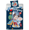 Mickey Mouse Camping Single Duvet Cover Set - European Size