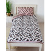 Minnie Mouse Leopard Coverless Single 10.5 Tog Quilt and Pillowcase Set