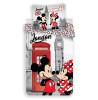 Mickey & Minnie Mouse London Single Duvet Cover Set - European Size
