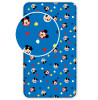 Mickey Mouse Single Fitted Sheet - Blue