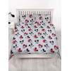 Mickey and Minnie Mouse Love Reversible Double Duvet Cover Set