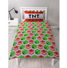Minecraft Creeper Dynamite Single Reversible Duvet Cover Set