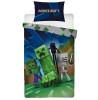 Minecraft Creeps Single Duvet Cover and Pillowcase Set