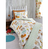 My Safari Animals 4 in 1 Junior Bedding Bundle - Duvet, Pillow and Covers