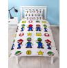 Nintendo Super Mario Stack Single Duvet Cover Bedding Set