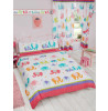 Patchwork Elephant Double Copripiumino e federa Set camera da letto