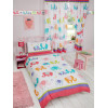 Patchwork Elephant Single Duvet Cover and Pillowcase Set Bedroom
