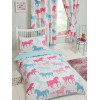 Patchwork Ponies Junior Duvet Cover Bedding Set
