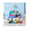 Paw Patrol Toddler Bed with Deluxe Foam Mattress Bedroom