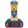 Paw Patrol Chase Night Light Alarm Clock