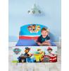 Paw Patrol Toddler Bed Plus Deluxe Foam Mattress