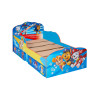 Paw Patrol Toddler Bed With Fibre Mattress and Storage