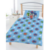 PJ Masks Badges Junior Reversible Duvet Cover Set