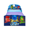 PJ Masks Toddler Bed with Storage Drawers plus Fully Sprung Mattress