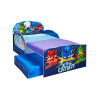 PJ Masks Toddler Bed with Underbed Storage plus Deluxe Foam Mattress