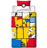 Set copripiumino reversibile per Pokémon Memphis