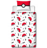 Pokémon Memphis Single Panel Copripiumino e federa