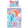 My Little Pony Rainbow Dash Toddler Panel Bedding Set