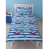 Peppa Pig George Speed Single Duvet Cover Rotary Bed Set