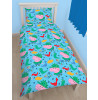 Peppa Pig George Roarsome Single Reversible Duvet Cover Set