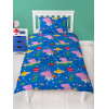 Peppa Pig George Planets Single Reversible Duvet Cover Set