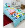 Peppa Pig George Counting Junior Toddler Duvet Cover Set