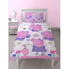 Peppa Pig Happy Single Rotary Duvet Cover Set