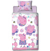 Peppa Pig Happy Single Rotary Duvet Cover Bedding Set
