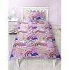 Peppa Pig Hooray Single Duvet Cover Bedding Set - Rotary Design