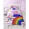 Peppa Pig Hooray Single Duvet Cover Bedding Set