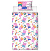 Peppa Pig Hooray Single Duvet Cover and Pillowcase Bed Set
