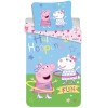 Peppa Pig Hula Single Cotton Duvet Cover Set