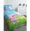Peppa Pig Hula Single Duvet Cover and Pillowcase Set