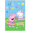 Peppa Pig Hula Hooping Fleece Blanket