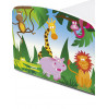 PriceRightHome Jungle Exclusive Design Toddler Bed with Fully Sprung Mattress