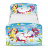 PriceRightHome Magical Pony Toddler Bed with Underbed Storage