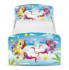 PriceRightHome Cama mágica para niños pequeños con almacenamiento debajo de la cama