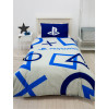 Playstation Blue Single Duvet Cover and Pillowcase Set