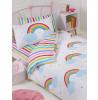 Rainbow Sky Junior Bedding Bundle Set (Duvet, Pillow and Covers)