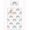 Rainbow Sky Single Bedding Set