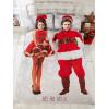 Selfie Santa Christmas Double Duvet Cover Bedding Set